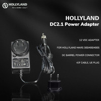 Hollyland 2.1 VDC Power Adapter with UE Plug for Mars 300/400/400S