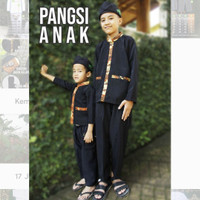 Pangsi Anak - Salontreng - Rebo Nyunda - Baju Budaya Sunda