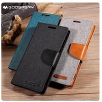 Flip case denim xiaomi redmi note 2 3 4 4X 5 6 7 8 9 pro wallet dompet
