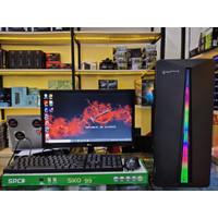 PC Rakitan Gaming Core i7-10700F Ram 8gb SSD 120Gb VGA 2GB LED 19 inch