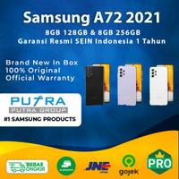 (RESMI) Samsung A72 A 72 128GB 256GB RAM 8GB Garansi SEIN 128 256 GB