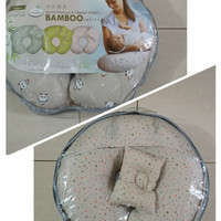 Bantal Menyusui Chugbog CBB1005 Bamboo Series FREE Bantal Tangan