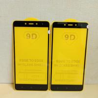 Tempered Glass Xiaomi Redmi Note 4 TG Full Layar 9D Anti Gores