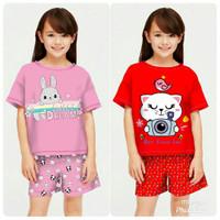 Baju Setelan Anak Perempuan kode 13 / Stelan Anak umur 5-12 Tahun