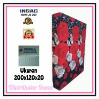 KASUR BUSA INOAC NO.4 TEBAL 20 CM ( HIJAU 200 X 120 X 20 )