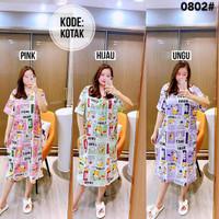 Daster Import Wanita Jumbo LD 130 / Baju Tidur Dress Wanita