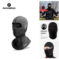 Masker Balaclava Buff Motor Sepeda Rockbros Premium Ice Fabric Anti UV