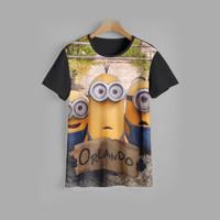 kaos anak MINIONS baju anak MINIONS v3 (1-12 tahun)