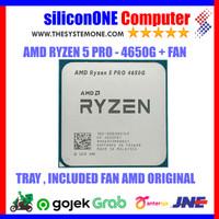 AMD Processor RYZEN 5 PRO - 4650G TRAY with Fan AMD Wraith Stealth Ori