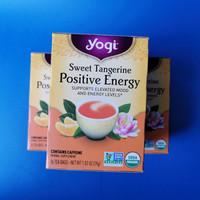 Yogi Tea Sweet Tangerine Positive Energy  Isi 16 Bags Teh Jeruk Keprok
