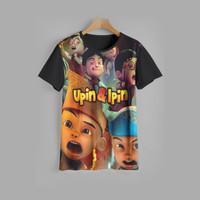 kaos anak UPIN & IPIN baju anak UPIN & IPIN v2 (1-12 tahun)