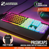Steelseries Prismcaps Universal Double Shot PBT Pudding Keycaps