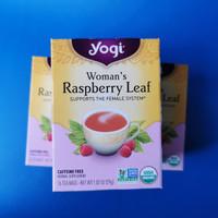 Yogi Tea Woman's Raspberry Leaf   Isi 16 Bags Teh Kesehatan Wanita