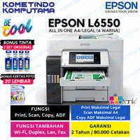 Printer Epson ECOTANK L6550 A4 Color Wi-Fi Duplex ADF/PrintScanCopyFax