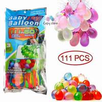 Balon Latex Isi Air / Magic Bunch Ballons Water Bundle 111 Balloons