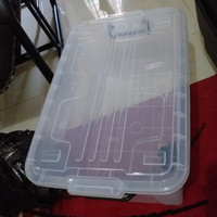 Container Box Roda Ezy CB 45 Liter Kotak Rak Susun Penyimpanan Barang