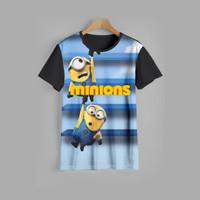 kaos anak MINIONS baju anak MINIONS v5 (1-12 tahun)