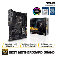 ASUS TUF Gaming H470-Pro WiFi Intel LGA 1200 ATX Motherboard with M.2