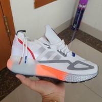 Sepatu Sneakers Adidas ZX 2k NASA White Metallic Silver