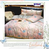 sprei bedcover katun premium eksklusif size 90-200 motif everland - 90x200, Tinggi 20cm