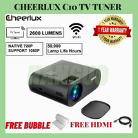 Cheerlux C10 WiFi + ATV | Projector C10 WiFi TV Tuner 2600 Lumens 1080 - C10 ATV