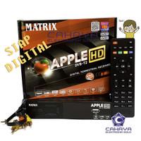 Set Top Box DVBT2 Matrix Apple Garuda Digital Antena UHF DVB T2 TV HD