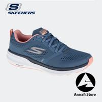 JUAL SEPATU RUNNING WANITA SKECHERS GO RUN PURE 2 128091-BLCL BLUE