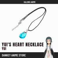 Kalung Sword Art Online Aksesoris Anime Cosplay Yui