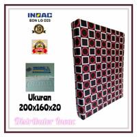 KASUR BUSA INOAC NO.2 TEBAL 20 CM ( HIJAU 200 X 160 X 20 )