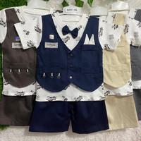 Two Mix Baju Pesta Bayi Laki Laki 12-18 bulan dj440