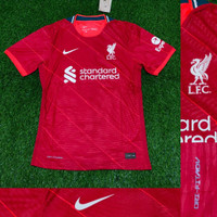 JERSEY BOLA LIVERPOOL HOME 2021-2022 PLAYER ISSUE VAPORKNIT TOP QUALIT