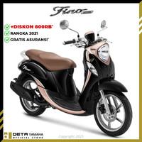 DETA-Yamaha FINO 125 (OTR BKS & DPK) 2021 Sepeda Motor - Hitam