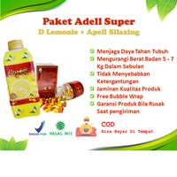 Adell Super D Lemonie Apell Silaxing Diet Pelangsing Detox Detoks