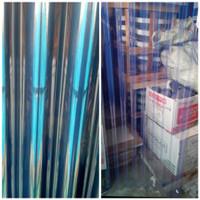 FIBER GELOMBANG ATAP PVC TRANSPARAN BENING TANPA WARNA 105 X 150