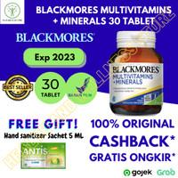 BLACKMORES MULTIVITAMINS PLUS MINERALS BPOM 30 TABLET 100% ORIGINAL - 30 tablet