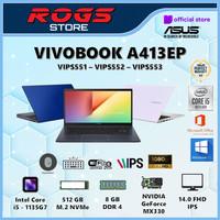 ASUS VIVOBOOK 14 A413EP i5-1135G7 8GB 512GB MX330 2GB 14 FHD OHS W10