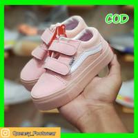 Sepatu Anak Bayi Perempuan 0-12 Bulan Vans Oldskool Peach Size :16-23 - 16/17