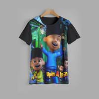 kaos anak UPIN & IPIN baju anak UPIN & IPIN v5 (1-12 tahun)