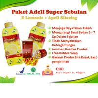 Adell Super Sebulan Apell Silaxing D Lemonie Pelangsing Detox Detoks
