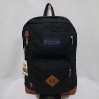Tas Ransel Jansport Austin Black Backpack ( 100% Original Bag )