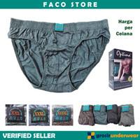 CD Jumbo Pria Celana Dalam Laki-Laki Besar OPTIMA Size XXL-XXXXL F58