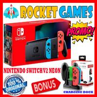 New Nintendo Switch HAC 001-(01) Longer Battery Life Switch New Model