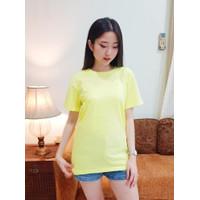 Kaos Wanita PREMIUM Lengan Pendek-Tshirt Distro Tumblr Tee-Infinite - baby yellow