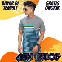 Kaos Longline Pria T-Shirt Rapper Swag Hiphop Cowok AS-21