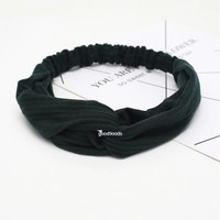 Good9oods Headband Bando Bandana Kain Polos Korea