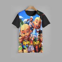 kaos anak UPIN & IPIN baju anak UPIN & IPIN v4 (1-12 tahun)