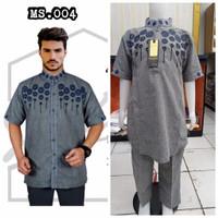 Baju Koko Couple Ayah Dan Anak Catton Terbaru Shakeil By Ardhani - MS.003, XL