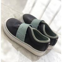 PUMA Baby Sneakers Sport El Rey Navy Sky Blue White (Preloved)