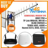 Antena Yagi TXR185 Huawei B593 B315 B310S B890 E5186 Dual Pigtail