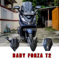 Afmoto cover depan tameng depan baby forza T2 new pcx 160